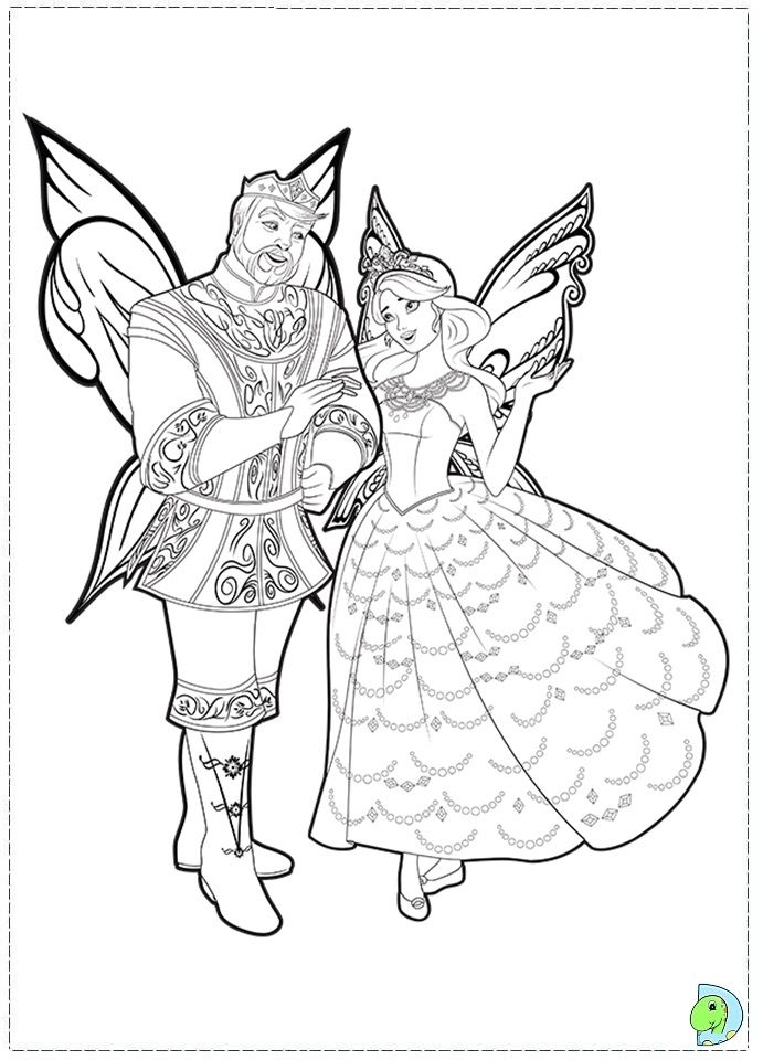 Barbie Fairytopia Mermaidia Coloring Pages Home