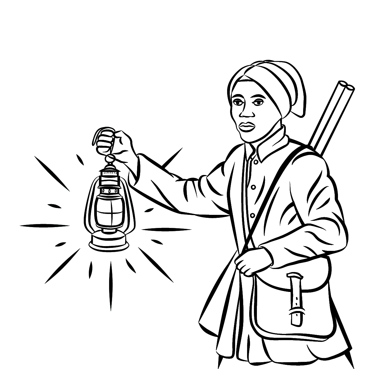 Underground Railroad Coloring Page Coloring Home