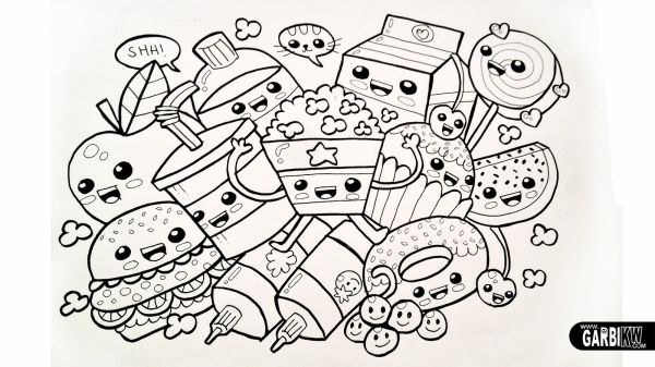 coloring pages food # 8