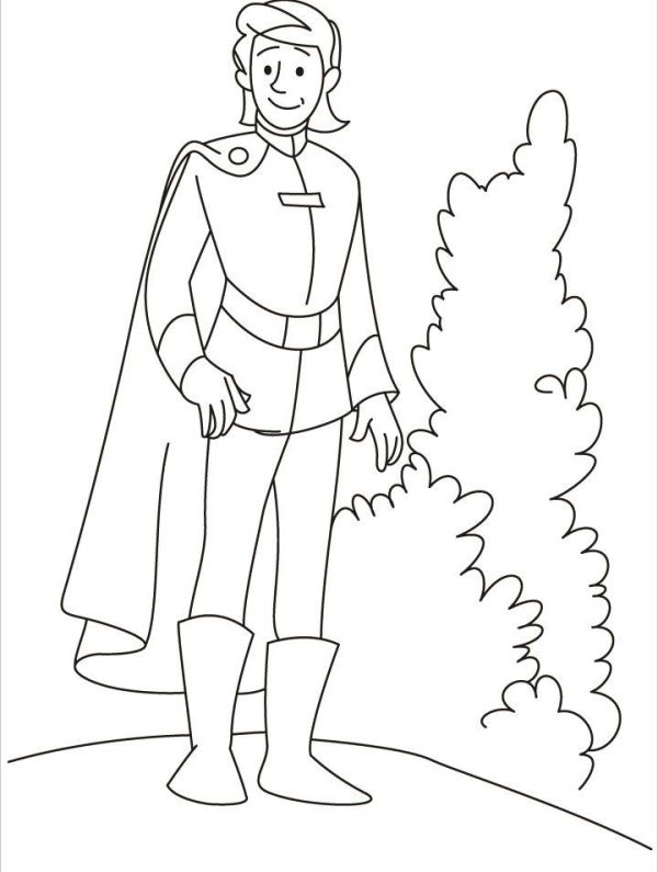 prince coloring pages # 7