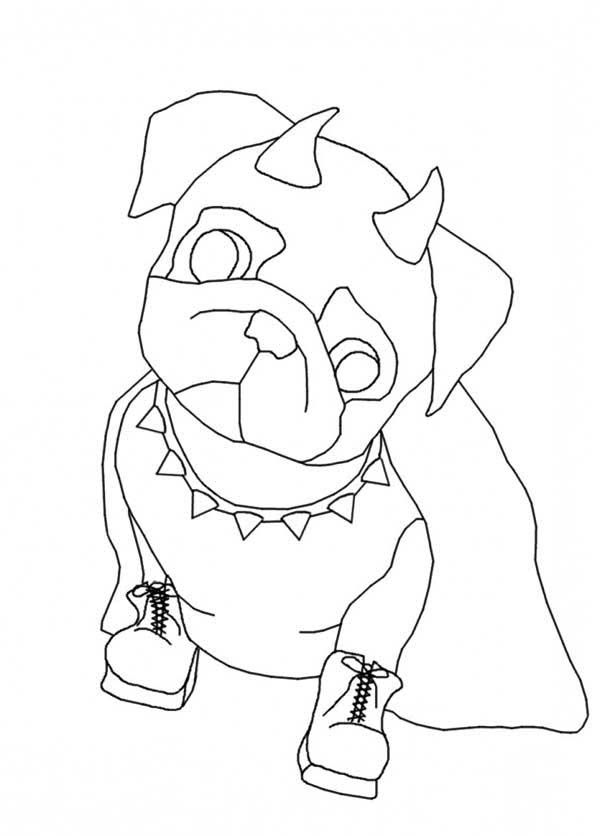 Pug dog coloring pages coloring home, i love you coloring pages print