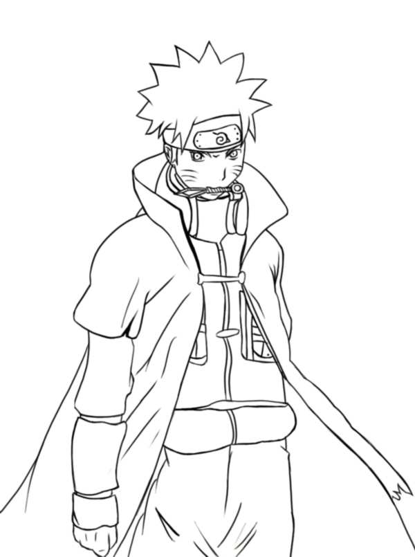 naruto shippuden coloring pages # 5