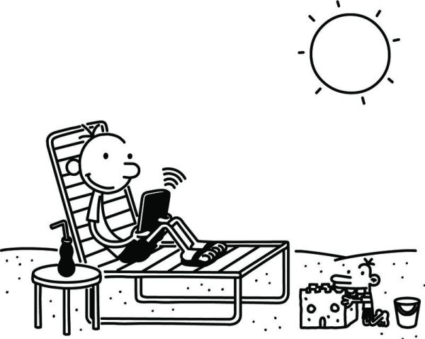 diary of a wimpy kid coloring pages # 5
