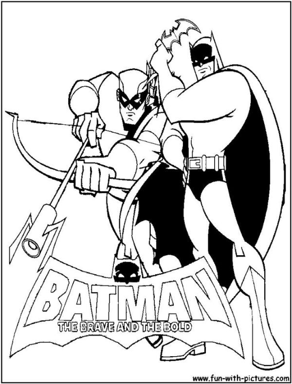 green arrow coloring pages # 13