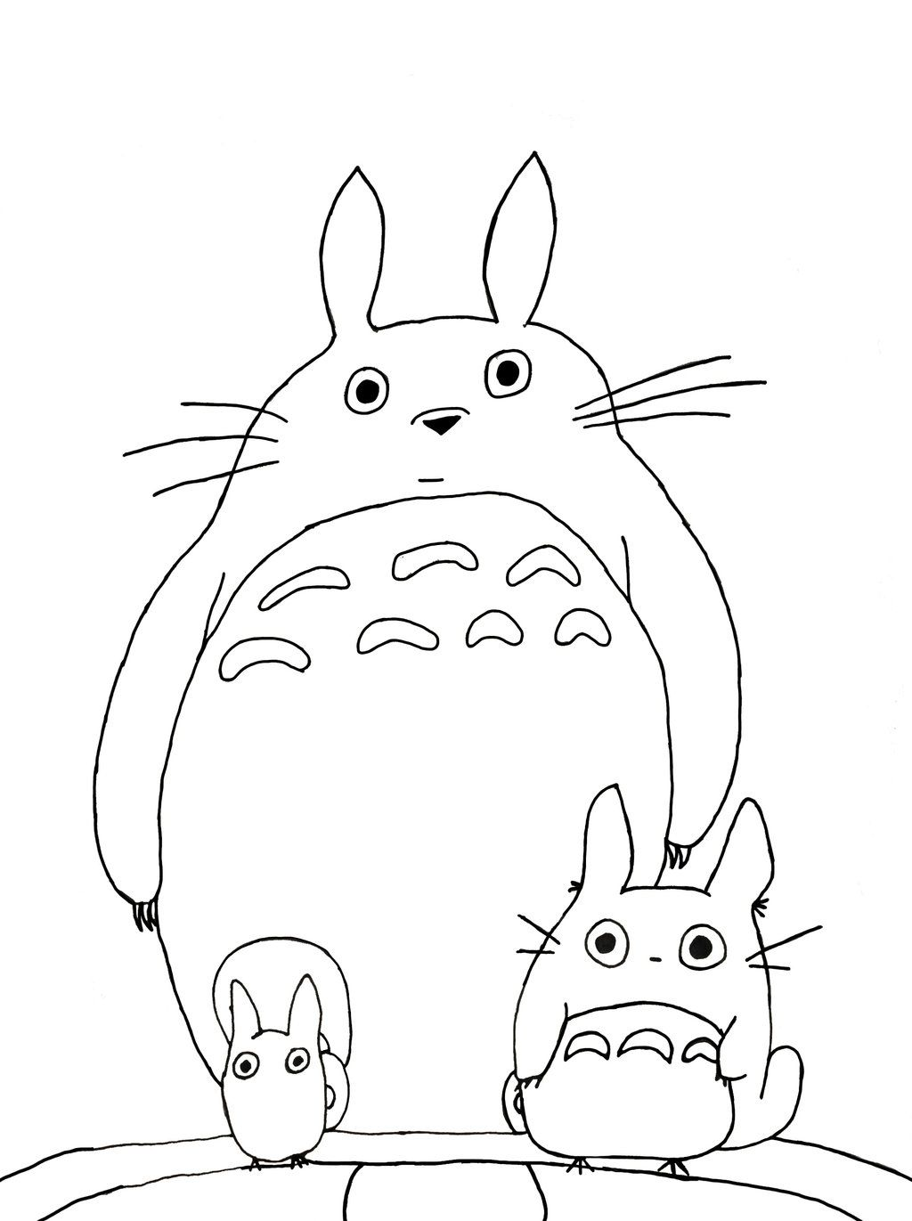 Totoro coloring pages coloring home, fun coloring pages