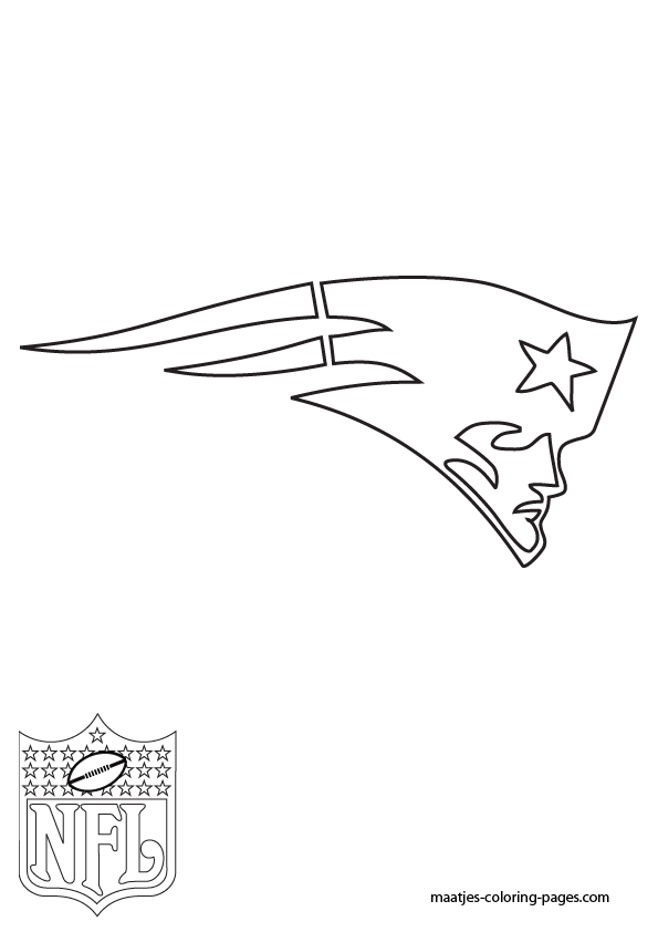 New England Patriots Coloring Page - Coloring Home
