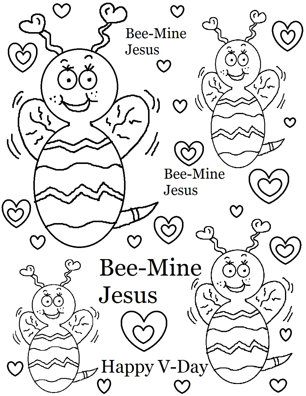 Valentine Coloring Pages 14 Coloring Kids