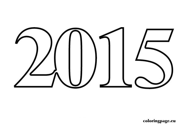 2015 coloring page # 8