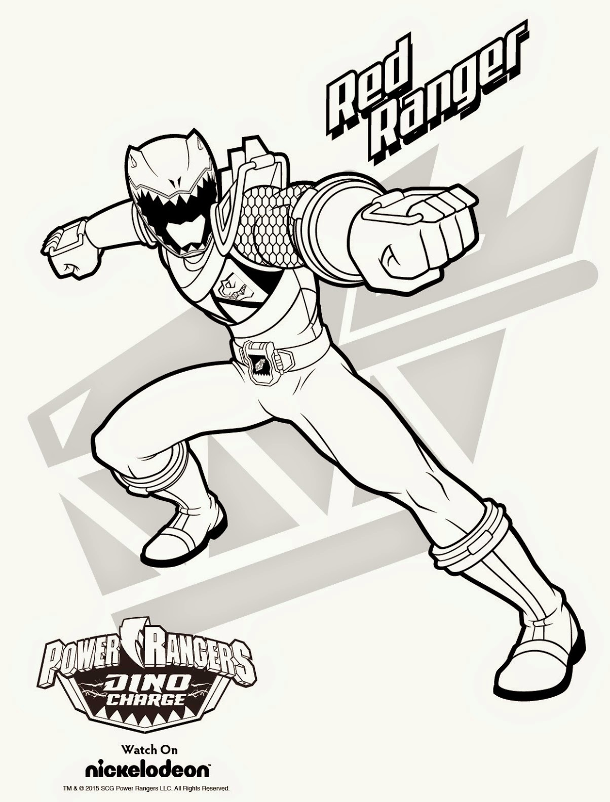 Power Rangers Coloring Pages Games Coloring Page