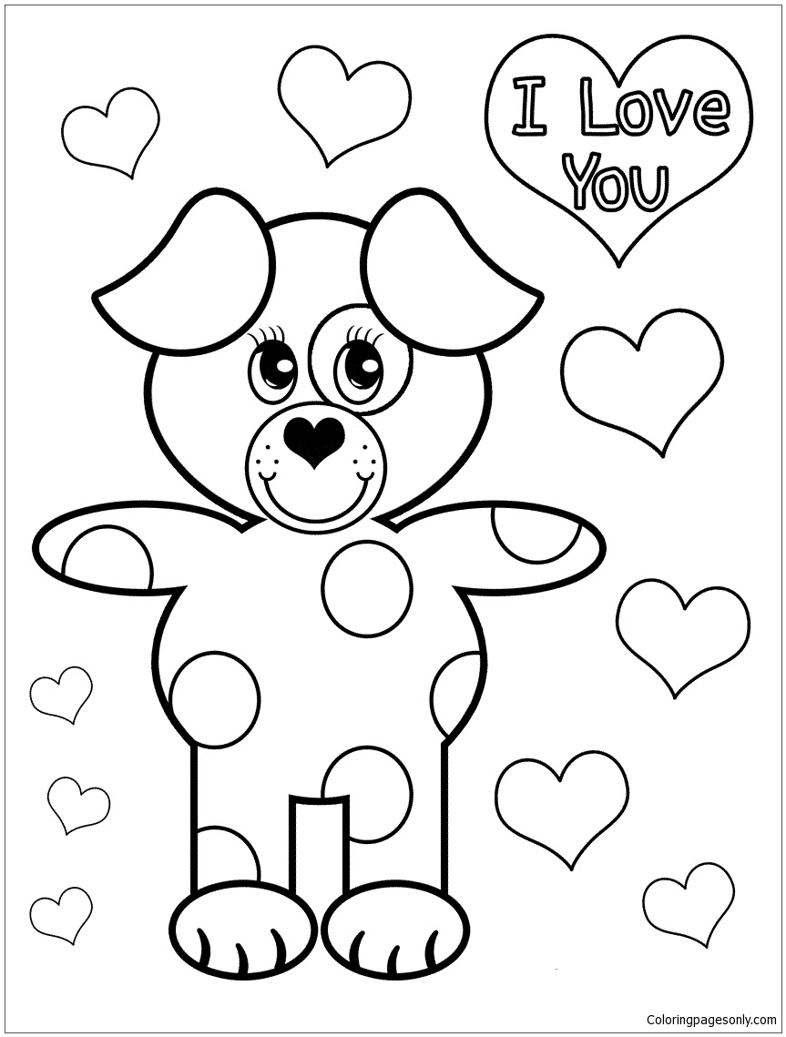 Golden Retriever Puppy Coloring Page color pages for teens coloring ...
