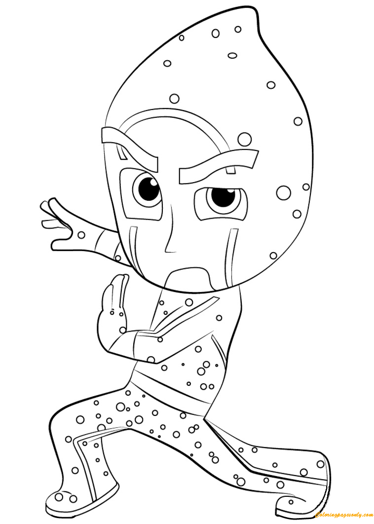 Night Ninja Coloring Page Free Coloring Pages Online
