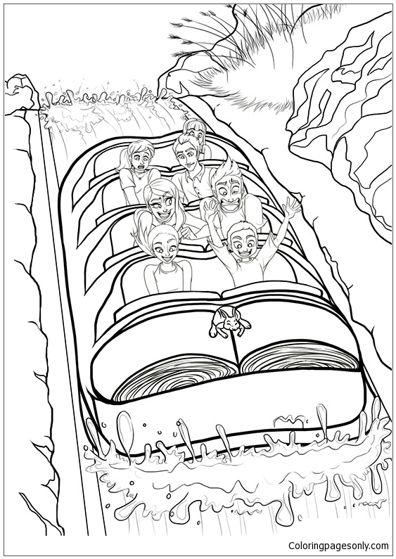 coloring pages printable mountains and trees # 51