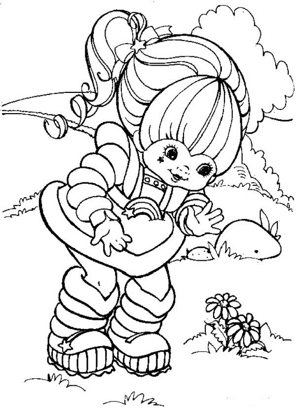 rainbow brite coloring pages # 18
