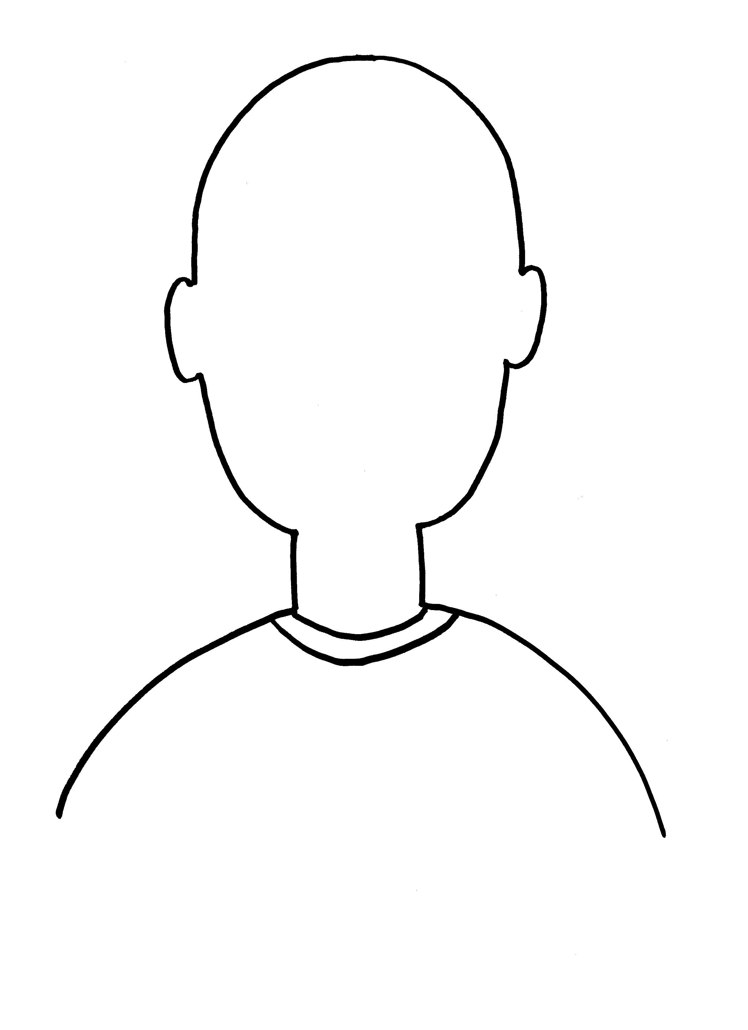 Self Portrait Template Preschool Printable
