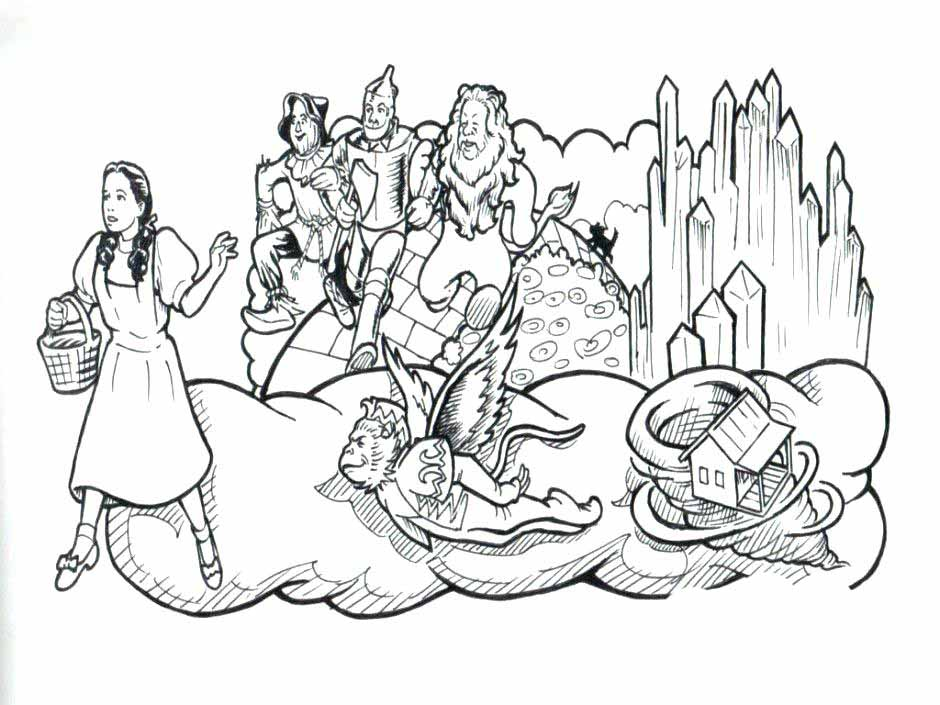 Wonder Woman Coloring Pages