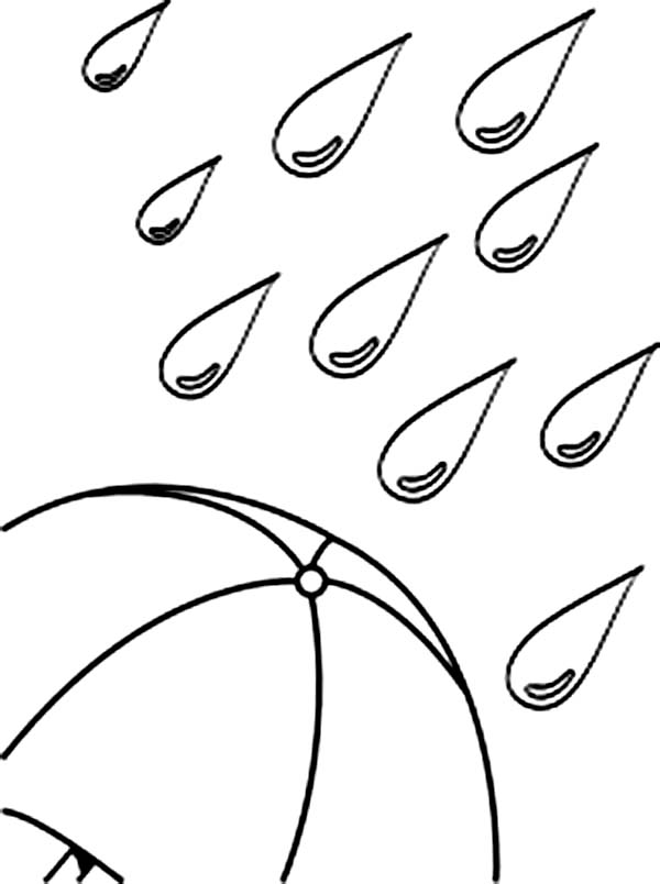 raindrop coloring page # 78