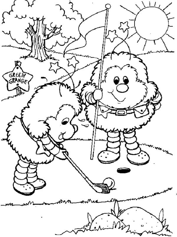 rainbow brite coloring pages # 52
