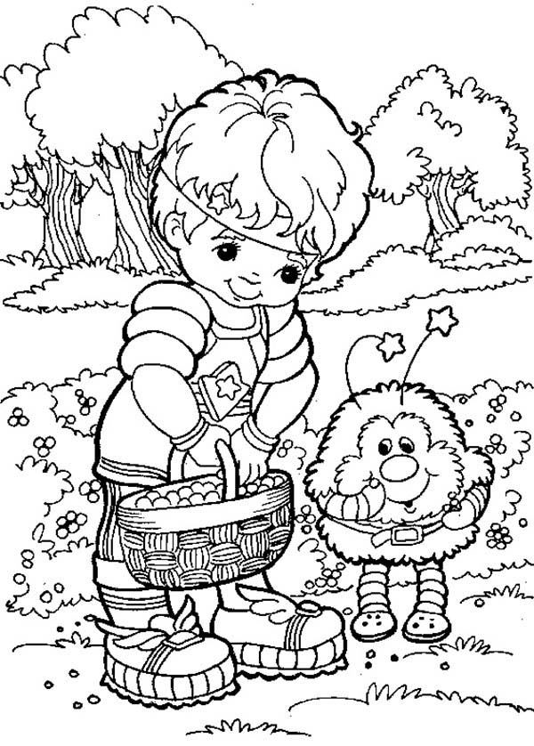 rainbow brite coloring pages # 45