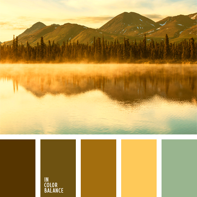 Mustard Brown Color Palette Ideas
