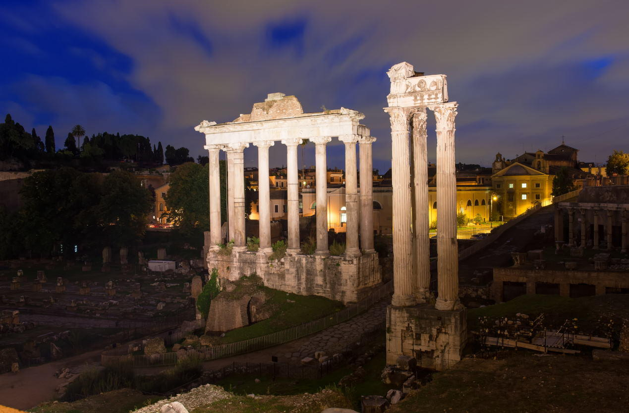 Temple of Saturn - Colosseum Rome Tickets
