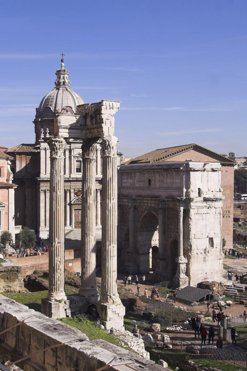Temple of Concord in Roman Forum - Colosseum Rome Tickets