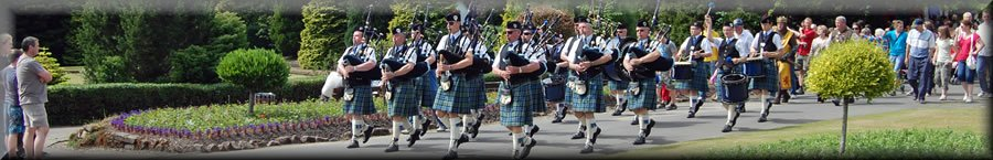 Helensburgh Clan Colquhoun Pipe Band - Band Repertoire Page