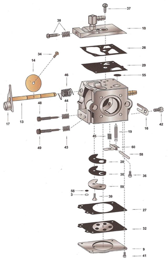 Ruixing Carburetor Parts