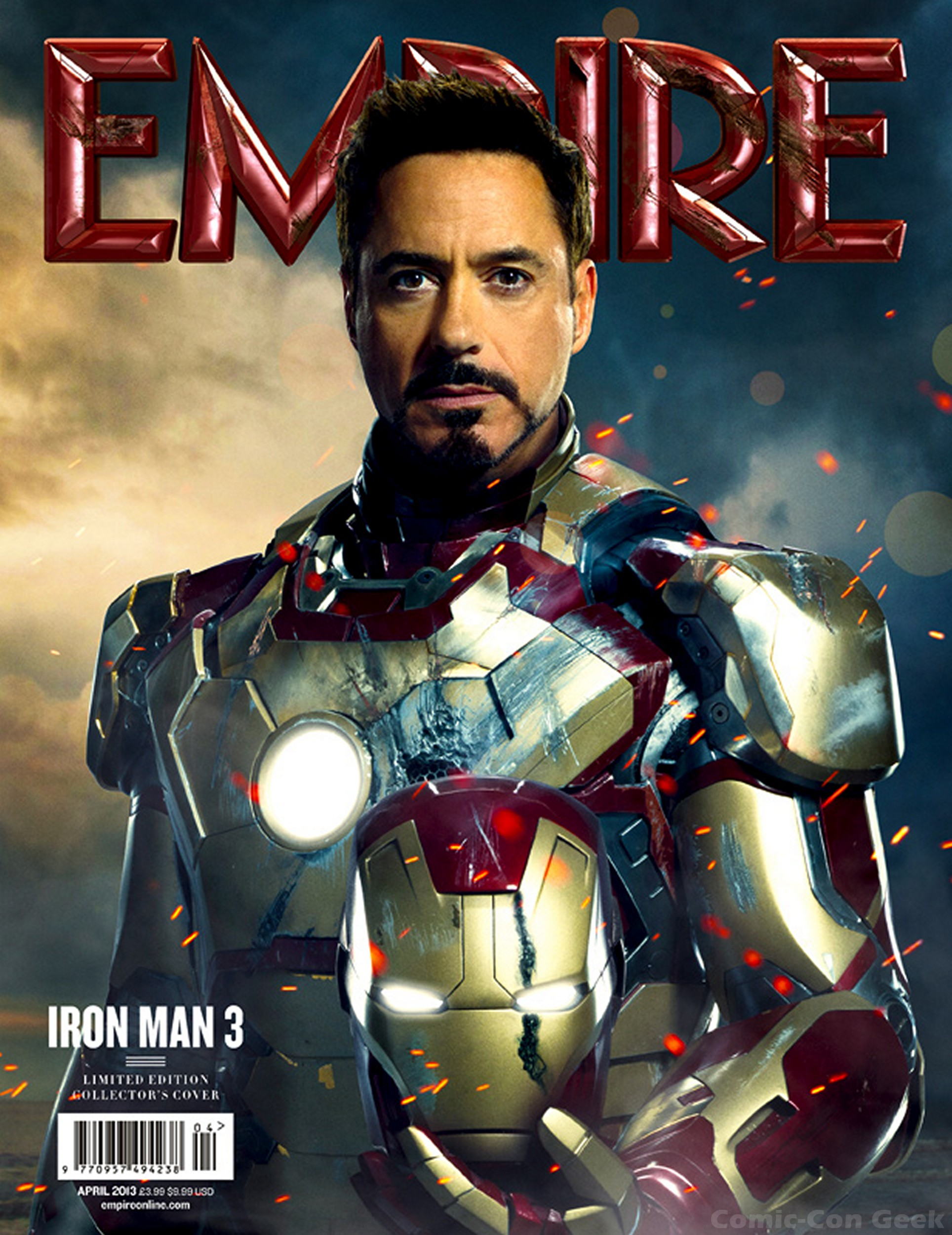 New IRON MAN 3 Posters and Empire Magazine Covers | Comic ...