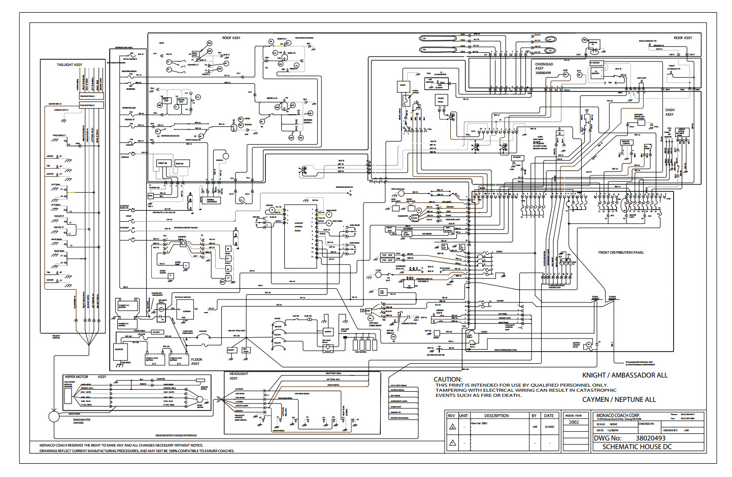 wiring diagrams 2003 monaco coach circuit wiring and diagram hub u2022 rh thewiringdiagram today Monaco Motorhome Wiring Diagram 2005 Monaco Dynasty Wiring-Diagram