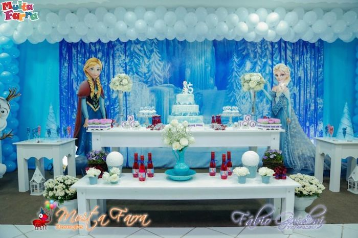 Frozen Party Decoration 15 How To Organize