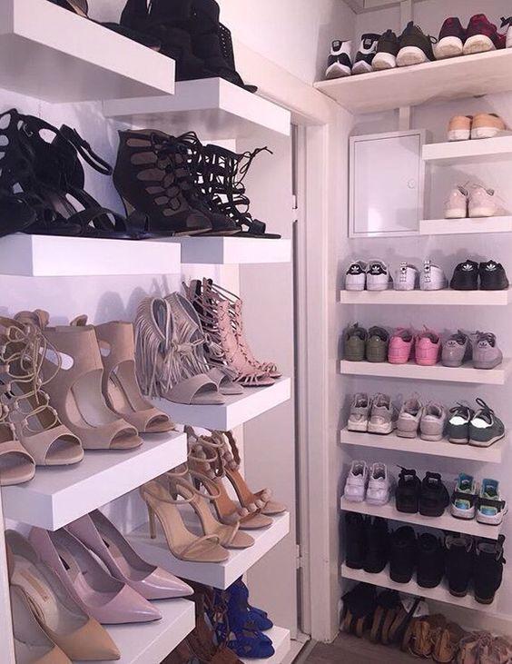 32 Ideas Closets Zapatos 24