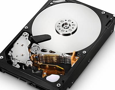 Ce arată un hard disk fără un capac