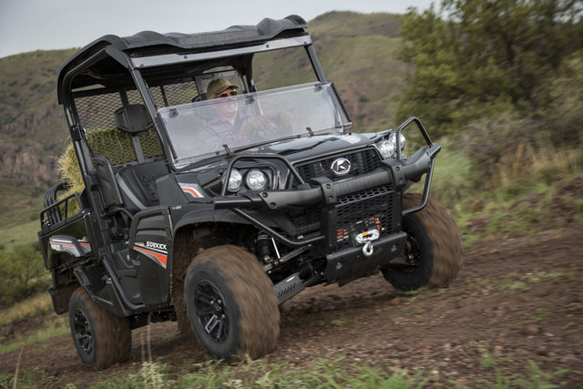 All New Gas Powered Kubota Rtv Xg850 Sidekick Makes Its