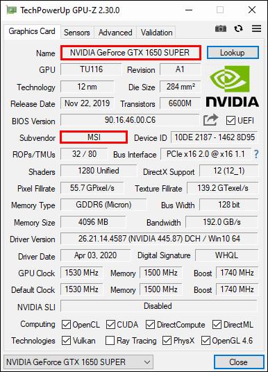GPU-Z。