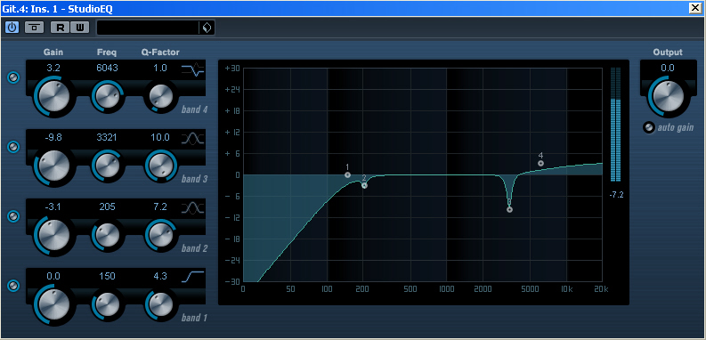 Acoustic Guitar Compressor