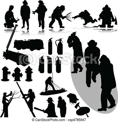 fireman silhouette clip art # 28