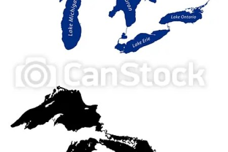 great lakes map vector full hd maps locations another world