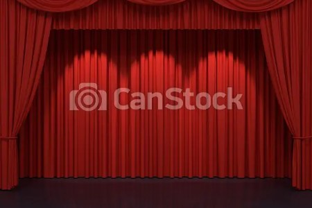 Red Stage Curtains 4k Pictures Full Hq Wallpaper
