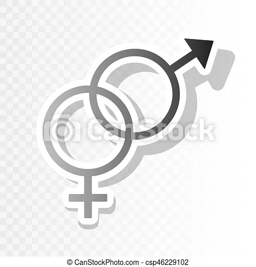 Sex symbol sign  vector  new year blackish icon on transparent     Sex symbol sign  vector  new year blackish icon on transparent background  with transition