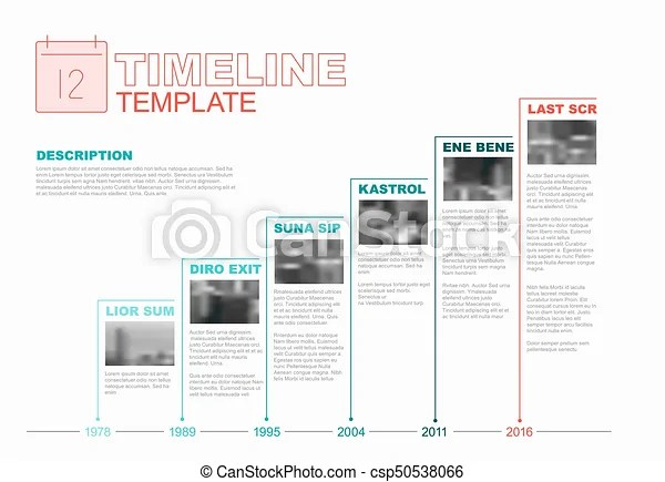 Vector infographic company milestones timeline template with growth     Vector Infographic Company Milestones Timeline Template