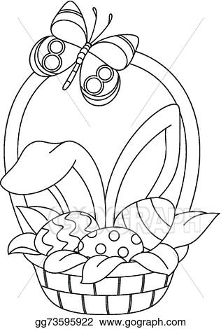basket coloring page # 46