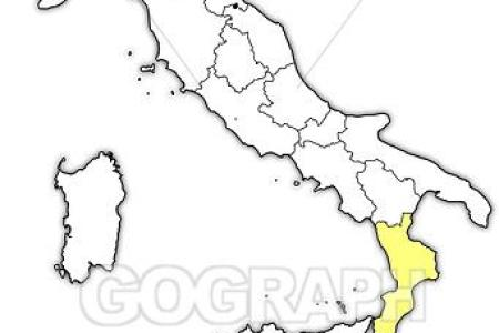 map of italy calabria region » Full HD Pictures [4K Ultra] | Full ...