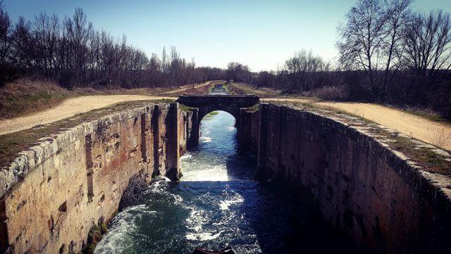El Canal De Castilla En Bici Informaci 243 N Y Tracks Con