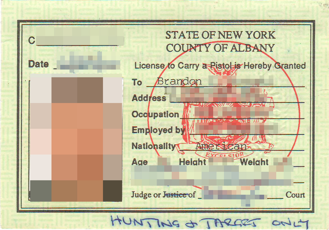 New York State Armed Security Guard License