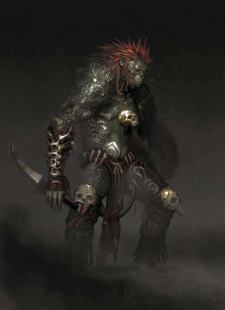 Goblin Shaman Concept Art