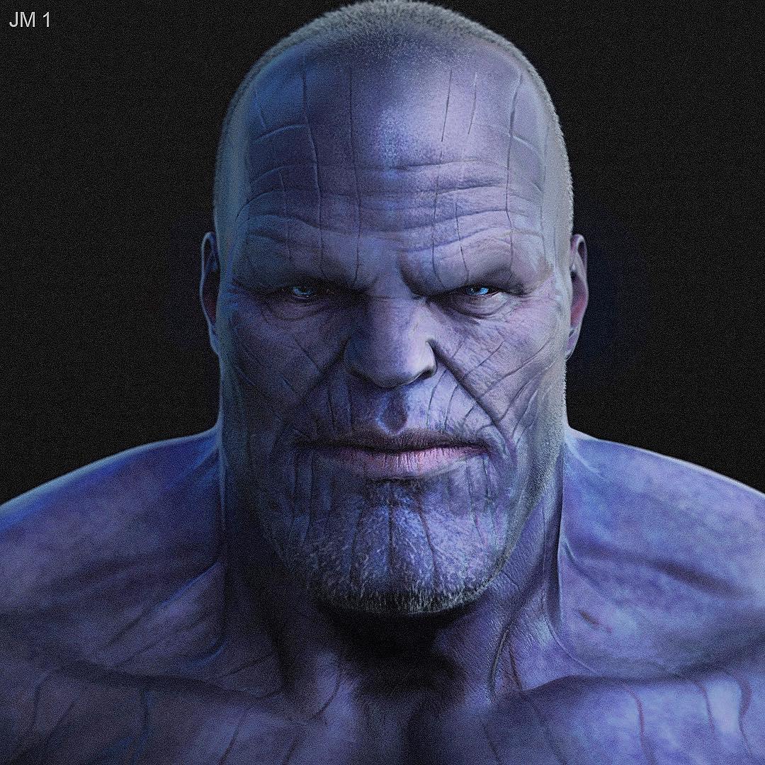 Avengers Infinity War Concept Art By Jerad Marantz