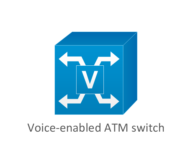 Atm Network Voice Data And Diagram