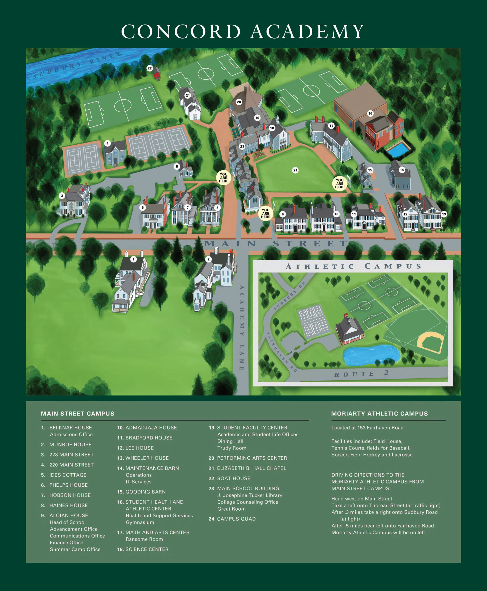 Phillips Exeter Academy Campus Map.Phillips Exeter Academy Athletics