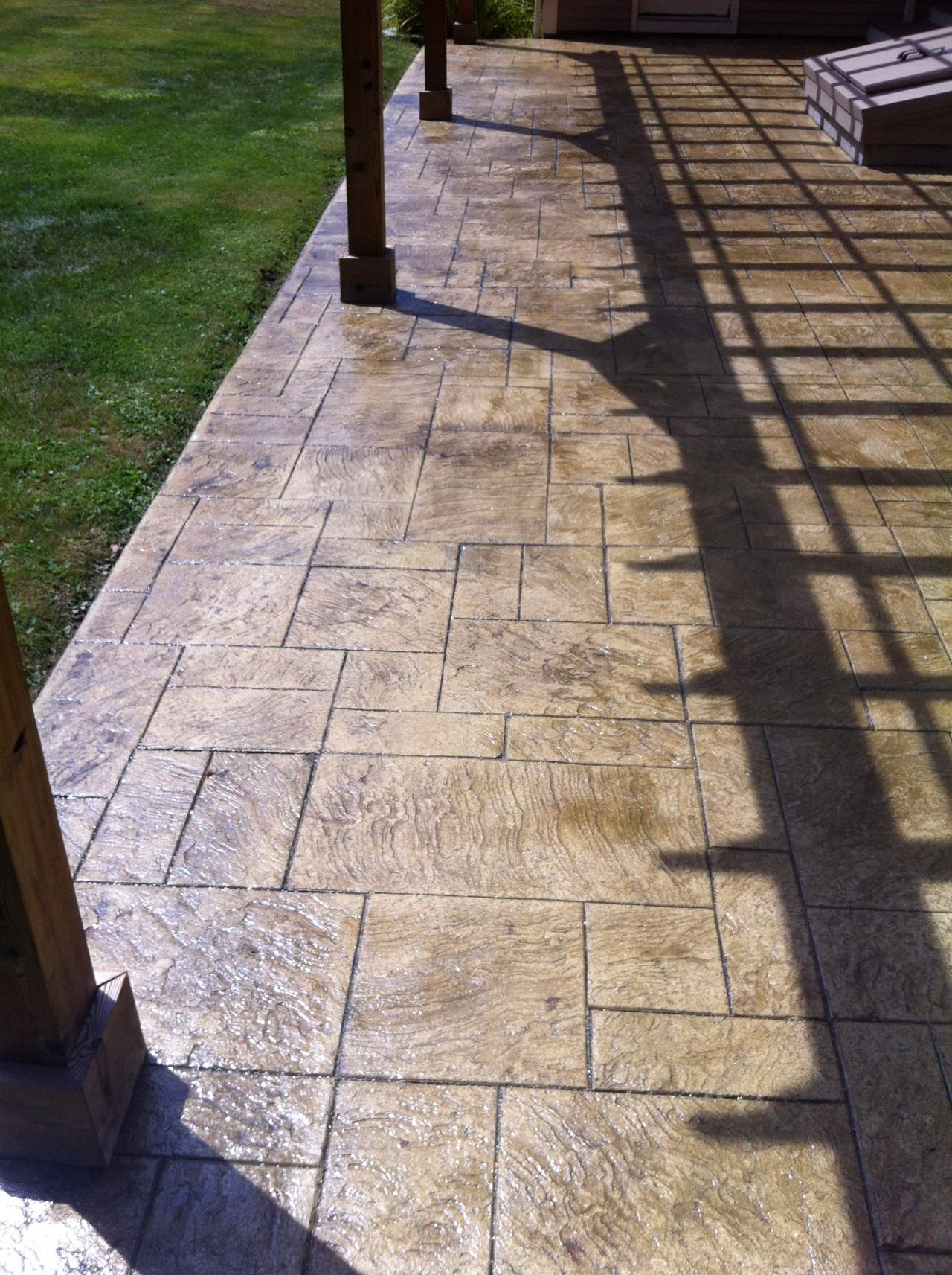Artistic Stamped Concrete Of Rhode Island Patios 2