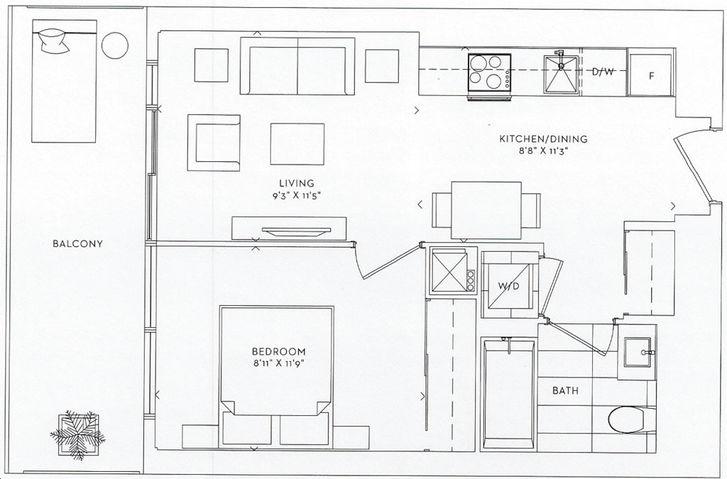 Queens Quay West Floor Plans